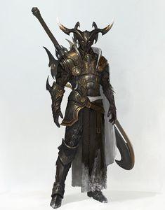 Dark knight, Kamek - on ArtStation at https://www.artstation.com/artwork/vywLa