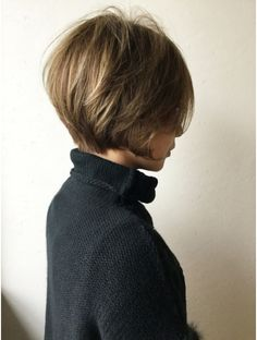 Pin on 髪型 Short Hair Cuts, Short Hair Styles, Hair Arrange, Short Bob Haircuts, Sleek Hairstyles, Hair Color And Cut, Hair Affair, Love Hair, Hair Dos