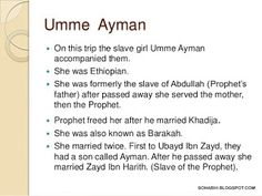 THE COMPANION: UMM AIMAN RA (Barakah – Women of Paradise)