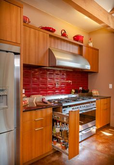 Cheryl Forberg's Fisher & Paykel Kitchen  Photo by Berkeley Mills Furniture and Cabinetry