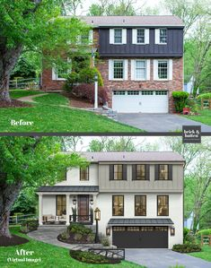 25 Front Porch Decorating Ideas to Make Your Entry More Inviting | brick&batten