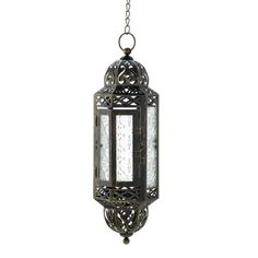 Intricate Hanging Moroccan Lantern from Sunrise Wholesale Dropshipping