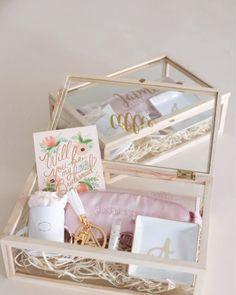 Bridesmaid Gift Boxes, Bridesmaid Proposal Gifts, Wedding Bridesmaids, Bridesmaid Makeup, Bridesmaid Ideas, Brides Maid Proposal, Bridesmaid Dresses, Gifts For Wedding Party, Wedding Favors