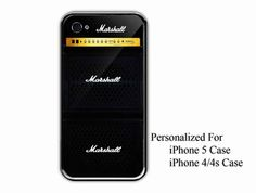 iPhone 4/4s Case  Marshall Amplifier Guitar  by NiceFaceShop, $15.00