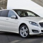 R Class is perfect for a comfortable an luxury travel. It is 4×4 and is suitable for outside city travels. The rear seats are individual and adjustable, which makes it more comfortable than an S Class. It has an additional row of 2 seats that can be mounted against the luggage space in the back. www.miiles.com