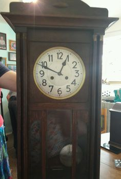 Antique Junghans wall clock • £45.00 - PicClick UK