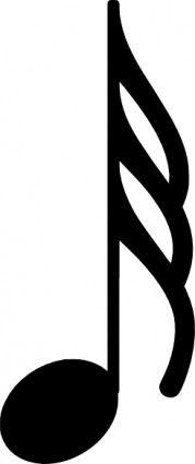 Musical Note clip art