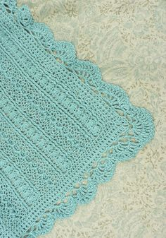 Crochet Mayflower Baby Blanket - Pattern Download