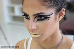Michelli Make Up: Maquiagem Artística - Inspiração Cisne Negro