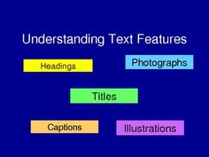 Text Features Powerpoint - really good!