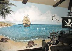 Pirate Mural by @Jeff Raum Studios