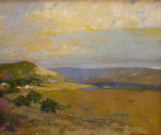 Arthur Mathews - Northern California Landscape