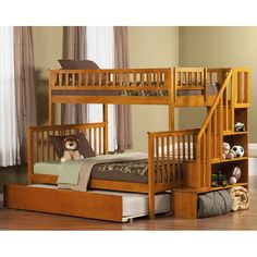 You'll love the Traditional Camaflexi Full over Full Bunk Bed with Trundle at Wayfair - Great Deals on all Furniture products with Free Shipping on most stuff, even the big stuff.