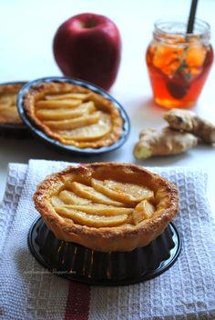 Pane, burro e alici: Crostatine di mele allo zenzero