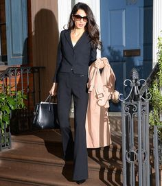 When you're a total boss and you know it. 😎 Amal Alamuddin #AmalClooney