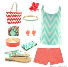 Try trending Chevron prints this Springs!