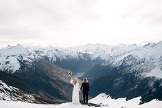 Exactly why I want to get married on a snow covered mountain.