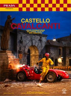 Castello Cavalcanti: Jason Schwartzman in a short film by Wes Anderson