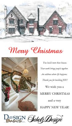 Merry Christmas and Happy New Year wishes to you from the Design Basics and Scholz Design teams.  What happened to 2013??