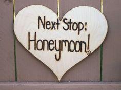 Honeymoon's the next stop!