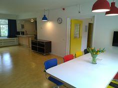 Zeer ruim opgezette woonkeuken in de volledig aangepaste vakantiebungalow Sleeping beauty, Bio Vakantieoord, Arnhem