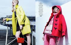 305 Techno color: eleonora baumann by billy nava for madame figaro 29th august 2014