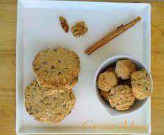 Cocina Maud: Galletas de Avena con Trocitos de Chocolate