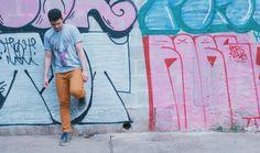 Look Masculino com Calça Marrom e camiseta Longline (1)