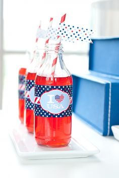All American Fourth of July Party - Anders Ruff Custom Designs, LLC