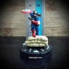 Miniature Captain America 001 Marvel 10th Anniversary  Update di: FB/Twitter/G/Line : idStoreplus WhatsApp: 0818663621 Store: idstoreplus.com  #staticfigure #captainanerica #marvelanniversary #marvel #marvelheroclix #marvelhero #superhero #heroclix#wizkids #necatoys #wargames #mainanunik #miniature #miniatureunik #kadounik #kadoultah #kadopacar #kadopacarunik #koleksiunik #kadoulangtahun #mainanhobi #hadiah #hadiahunik #hadiahultah #hadiahulangtahun #idstoreplus