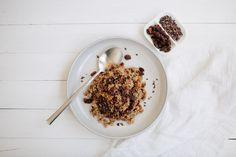 """Toasted Nut + Quinoa """"Porridge"""""""