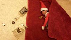 Paulo the ethnic drug mule Elf on the shelf had a heavy night last night