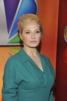 """""""2012 NBC Upfront Presentation"""" Red Carpet/Green Room roaming -- Pictured: Ellen Barkin """"The New Normal"""" -- (Photo by: Charles Sykes/NBC)   #NewNormal"""