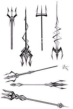 a tattoo using these as a model/inspiration... so Percy