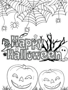 Welcome October Happy Halloween 2020 coloring pages. Pumpkins, bats, spiders and halloween ghost coloring pages for kids. Collection of cartoon coloring pages for teenage printable that you can download and print. #Bat, #Halloween, #HappyHalloween, #October, #Pumpkins #Bat, #Halloween, #HappyHalloween, #October, #Pumpkins Halloween Ghosts, Halloween 2020, Happy Halloween, Cartoon Coloring Pages, Coloring Pages For Kids, Spiders, Bats, Pumpkins, October