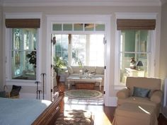 screened porch off master bedroom | Porch Obsession ...