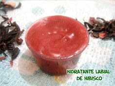 Hidratante labial vegano de hibisco (lip balm) #dye #beleza #maquiagem #vegan