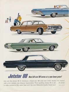 1964 Oldsmobile Jetstar 88 Car Ad Olds Jetstar I by AdVintageCom