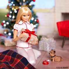 Keeping it merry and bright, Happy Holidays to all! #barbie #barbiestyle