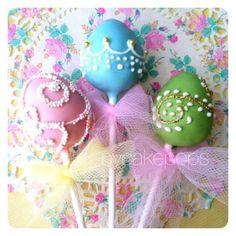 Seasonal Cake Pops - New York Cake Pops Easter Egg Cake Pops, Easter Cupcakes, Easter Eggs, Brownie Pops, Cookie Pops, Easter Treats, Easter Desserts, Easter Recipes, Spring Cake