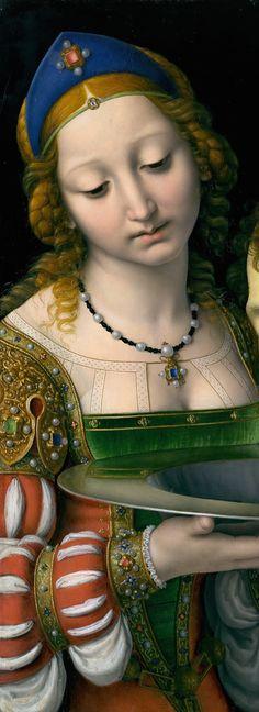 Andrea Solario - Salome with the Head of Saint John the Baptist
