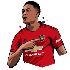 Gamer Shirt, Telegram Stickers, Football Wallpaper, Football Players, Manchester United, Martial, Chevrolet, The Unit, Collection