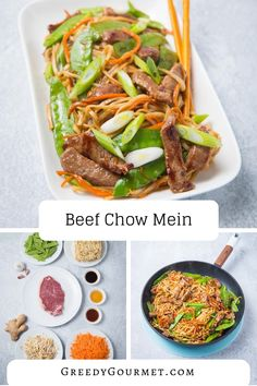 If you want to learn how to make the best beef chow mein, you've come to the right place. Made them with Spark Products! This classic Chinese stir-fry calls for beef and noodles. #chinesefood #fakeaway Chinese Stir Fry Noodles, Chinese Beef Stir Fry, Beef And Noodles, Best Stir Fry Recipe, Stir Fry Recipes, Gourmet Recipes, Cooking Recipes, What's Cooking, Delicious Recipes