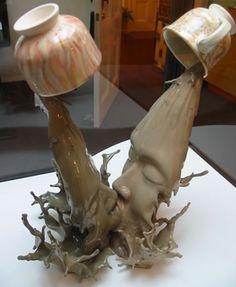 Wow, what an interesting sculpture.