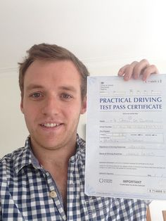 Another successful student just passed his driving test with London Driving School