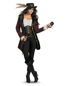 Plus Size Women Halloween Costumes | ... of the Caribbean Angelica Prestige Adult Womens Plus Size Costume