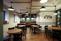 Seven restaurant & pub by Ramūnas Manikas, Klaipėda – Lithuania » Retail Design Blog