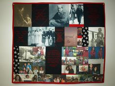 Photo Memory Quilt -- May 9th & May 23rd   10a-1p                                                  Teacher -- Holly    $45  This is a fun and easy quilt to make. Choose any subject you please; then learn to make photos for your quilt. You can even use embroidery to enhance the effects. This quilt is great for memorializing people or events, family trees, special memories, art, etc. The possibilities are endless…855 W. Foothill Blvd. Claremont, CA 91711 #Crafts #Quilts #SewingMachine