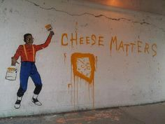 """Urkel says """"Cheese matters!"""""""