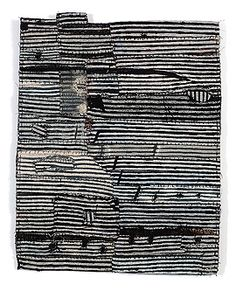 Matthew Harris is a graduate of Goldsmiths making work that employs dying, cutting and hand stitching abstract imagery and the translation of drawn marks into cloth Textile Fiber Art, Textile Artists, Map Quilt, Quilts, Quilt Art, Fabric Art, Fabric Design, Fabric Books, Embroidery Art